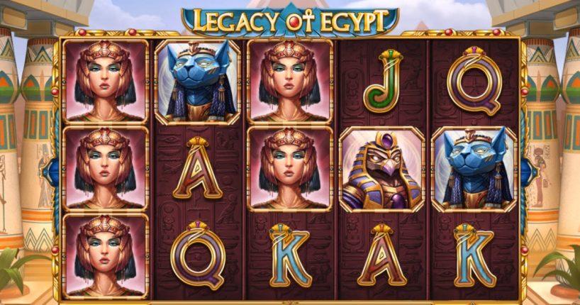 Обзор слота Legacy of Egypt